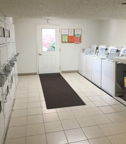 On-Site Laundry Facility at Emerald Court, Iowa City