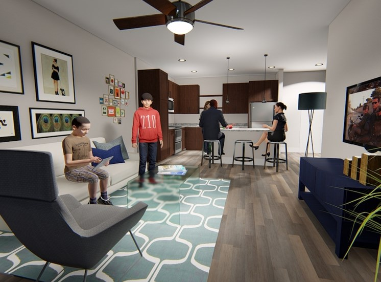 spacious floor plans at Residences at The Green Apartments in Lakewood Ranch, FL