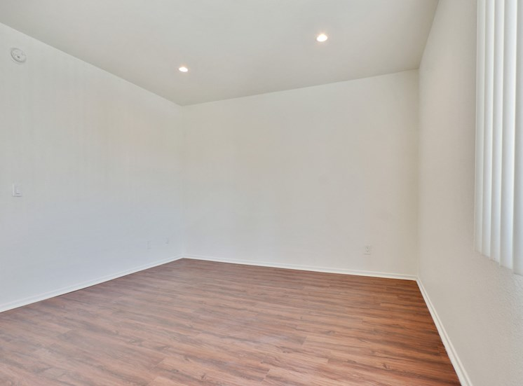 Bedroom With Recessed Lights