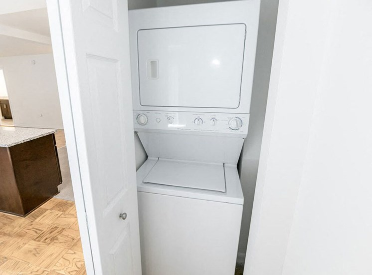 In-Unit Washer and Dryers at The Falls at Rolland Park apartments in Baltimore, MD