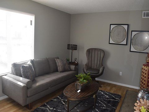 Cedar Run Apartments Model  Sofa