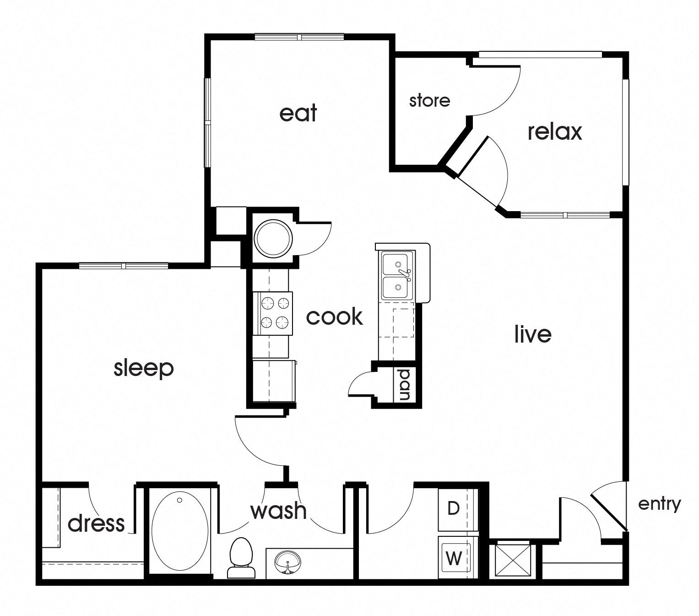 Magnolia Pointe Apartments: 1, 2, & 3 Bedroom Apartments In Durham NC