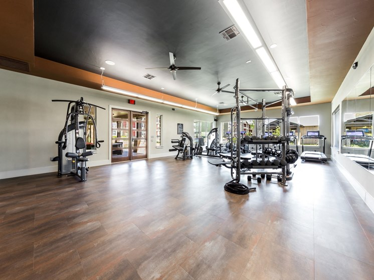 Fitness Center at Legacy Creekside, Texas