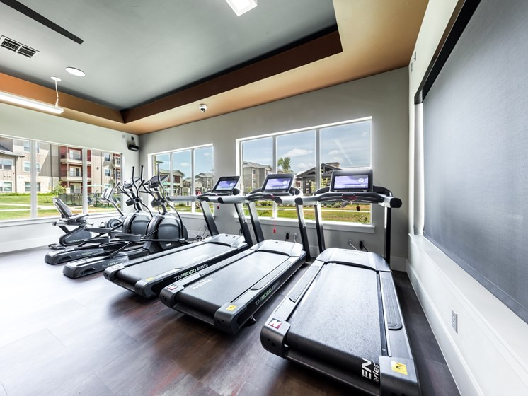 State Of The Art Fitness Center With Ample Cardio Machines at Legacy Creekside, Texas, 78245