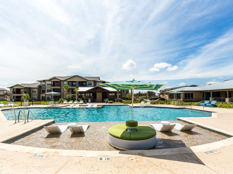 Private Swimming Pool With Sundeck at Legacy Creekside, San Antonio