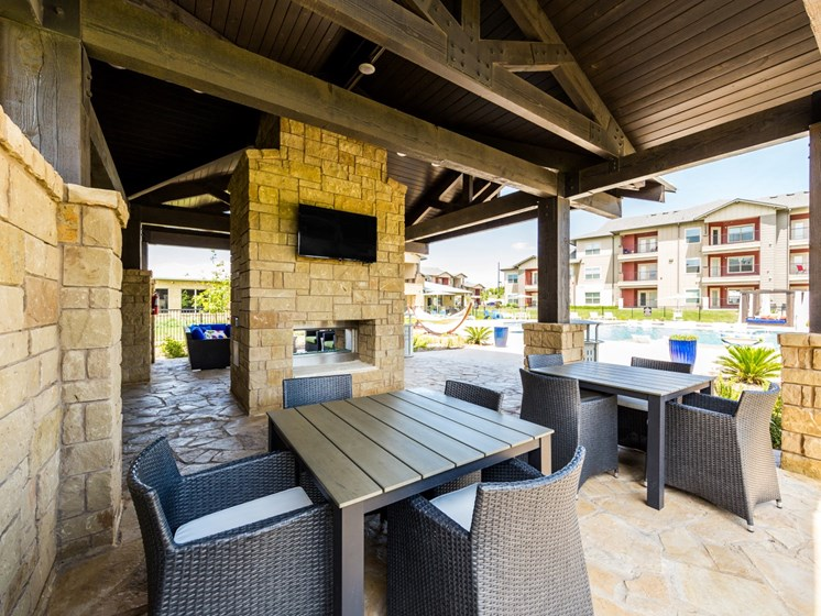Rooftop Gazebo With Tv at Legacy Creekside, Texas, 78245