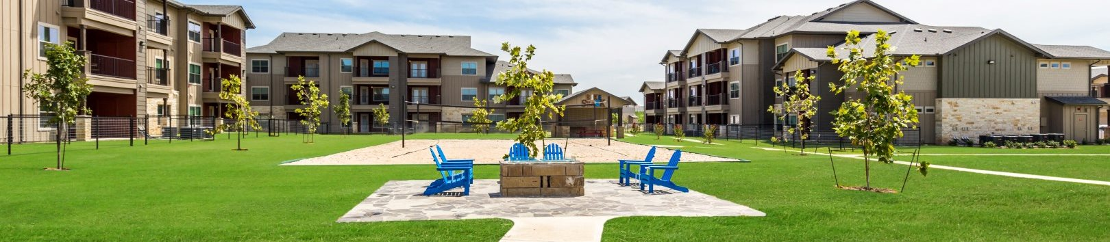 Lush Landscaping at Legacy Creekside, San Antonio