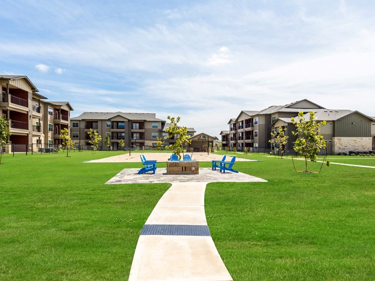 Lush Green Outdoor Spaces at Legacy Creekside, San Antonio, 78245