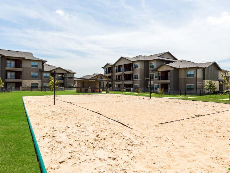 Volleyball Court at Legacy Creekside, San Antonio