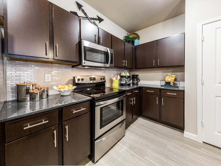 Kitchen Appliances at Legacy Creekside, Texas, 78245