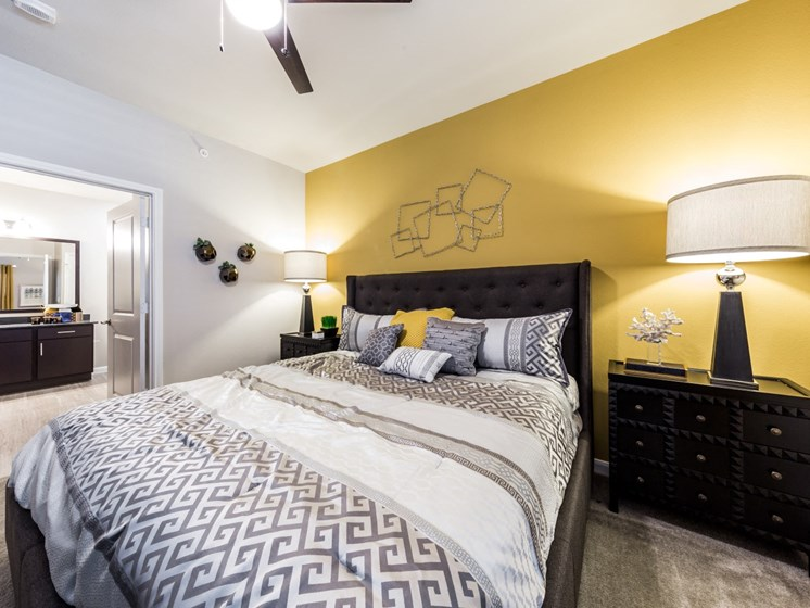 Large Comfortable Bedrooms at Legacy Creekside, San Antonio