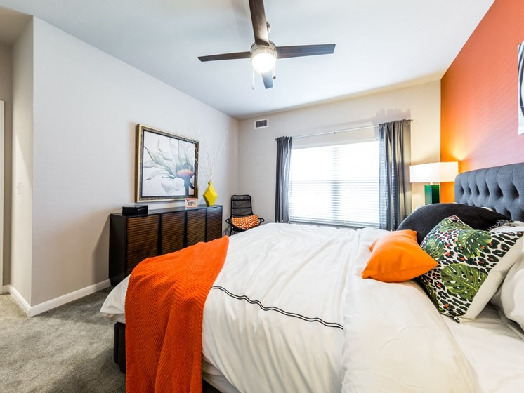 King-Sized Bedrooms at Legacy Creekside, San Antonio, TX, 78245