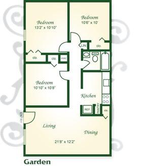 Three Bedroom Garden