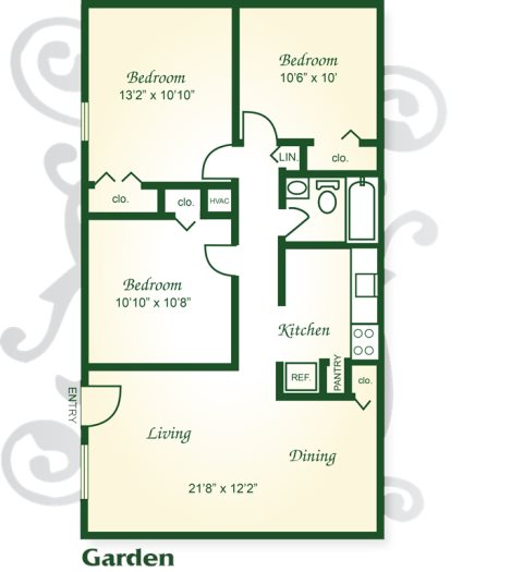 Floor Plans Of Indian River Apartments And Townhomes In