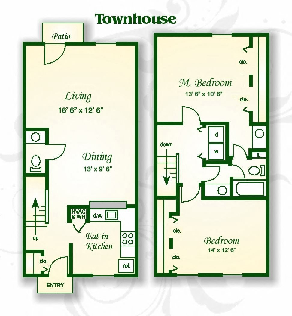 Laurel Crossing Apartment Homes Apartments: Floor Plans Of Laurel Bluff Apartments And Townhomes In