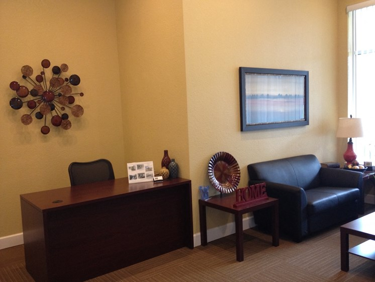 St. Anthony Garden Court apartments in St. Cloud, FL reception area