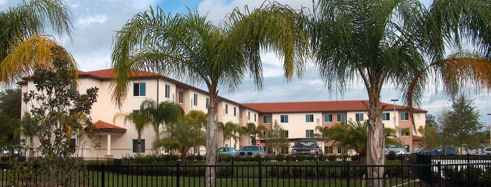 Holy Cross Manor I and II senior apartments in Palmetto, FL exterior