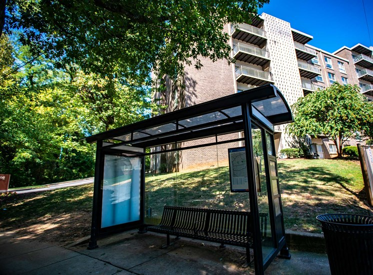 Silver Spring House Apartments Bus Stop