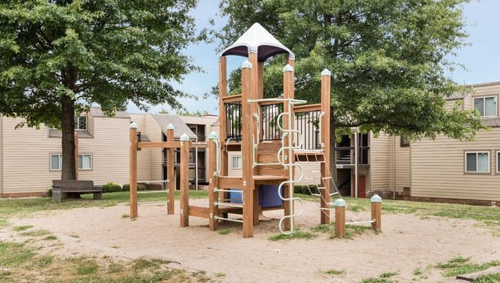 Apartments with playground at Grant 79 Apartments in Overland Park, KS