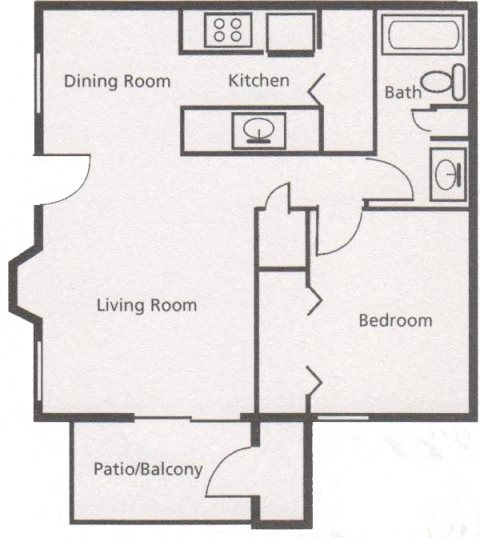 Floor Plans Of Austin Pointe Apartments In San Antonio, TX