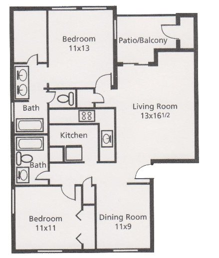 San Mateo Apartments San Antonio: Floor Plans Of Austin Pointe Apartments In San Antonio, TX
