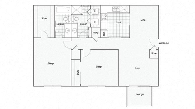 Chattahoochee Floor Plan