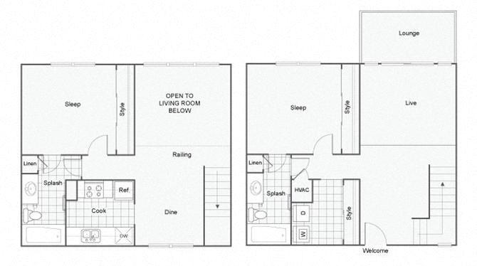 Crossroads Floor Plan