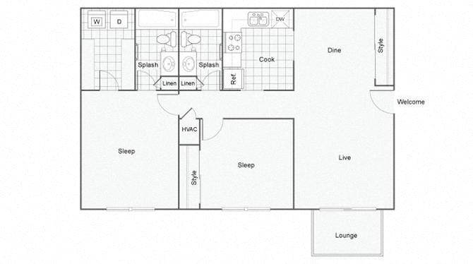 Cumberland Floor Plan