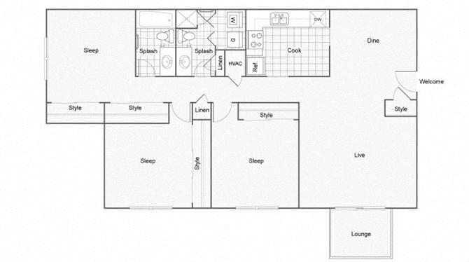 Jubilee Floor Plan