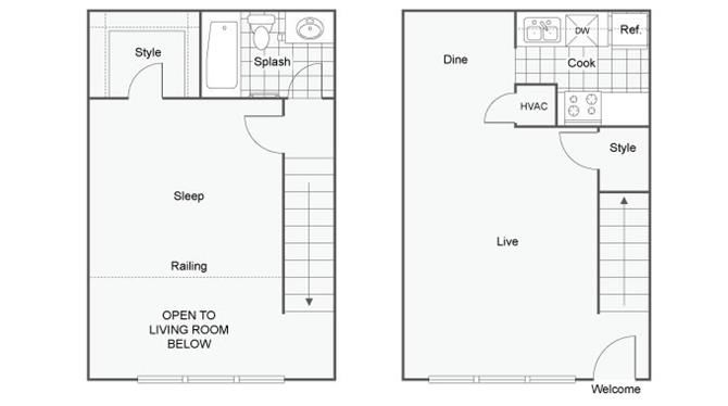 Millennial Loft Floor Plan
