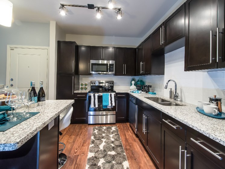 Fully Equipped Kitchen at  Altis Lakeline, 12700 Ridgeline Blvd, TX