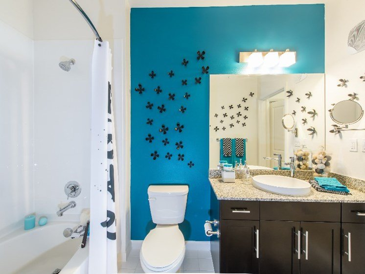 Spacious Bathrooms at Altis Lakeline, Cedar Park, Texas
