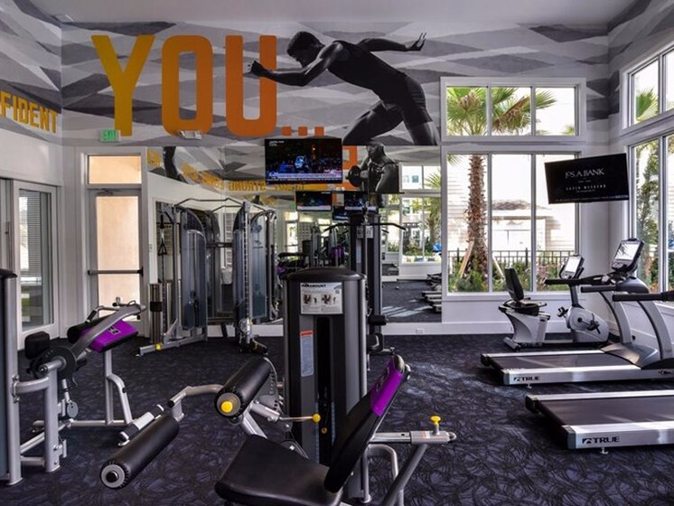 24/7 all-access fitness center at Altis Lakeline, Cedar Park, 78613