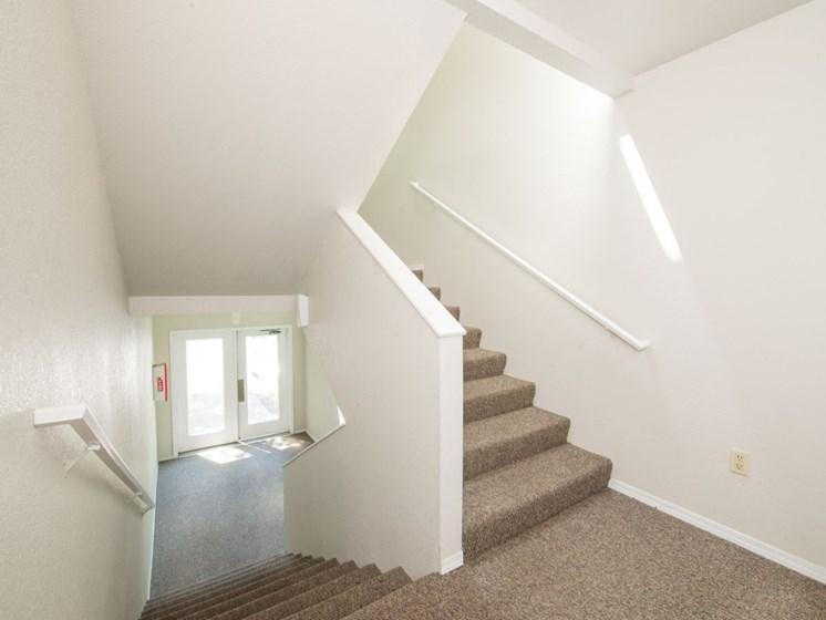 staircase, lobby
