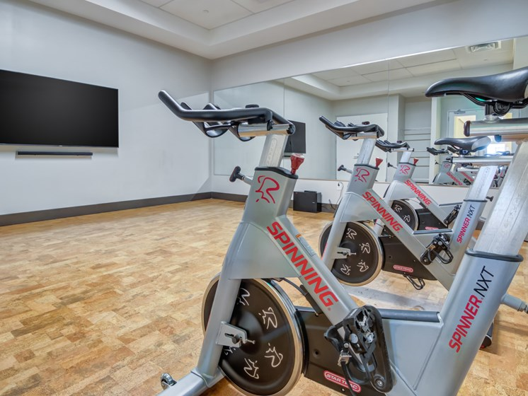fitness center- cycles