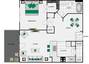 A6a_2 Floorplan for arlo westchase