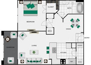 A6c_2 floor plan for arlo westchase