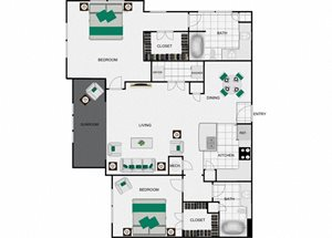 B8c Floorplan for arlo westchase