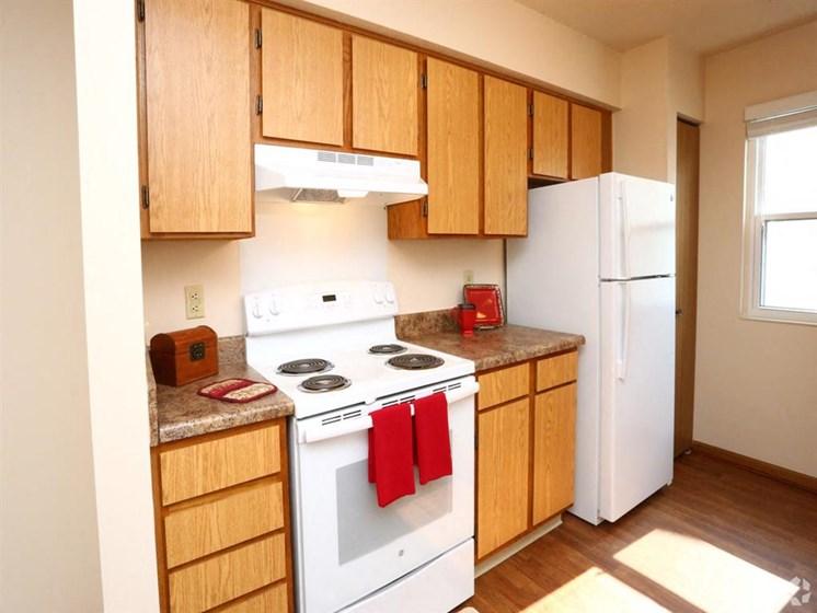 apartment kitchen area_Lakestone Apartments, Ann Arbor, MI