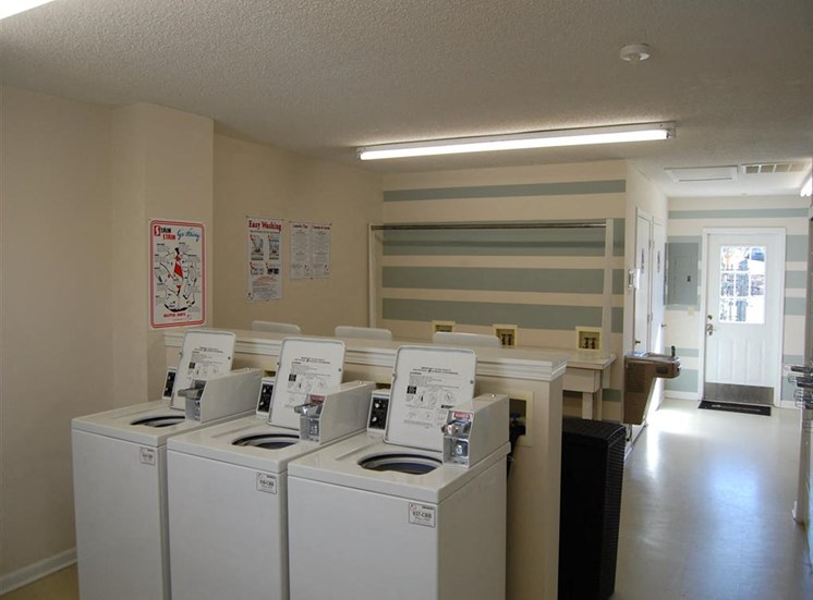 Laundry Area at Hawk Ridge Apartments in Clemmons NC