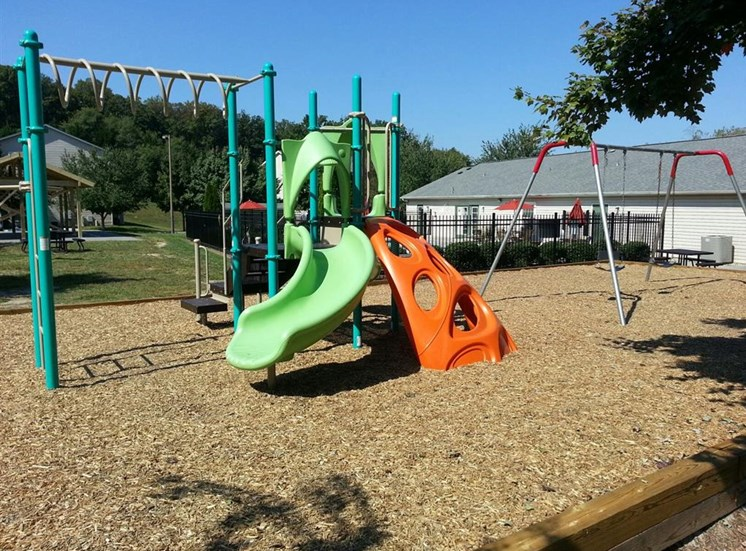 Playground at Hawk Ridge Apartments in Clemmons NC