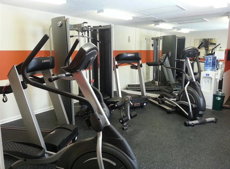 Fitness Center at Hawk Ridge Apartments in Clemmons NC