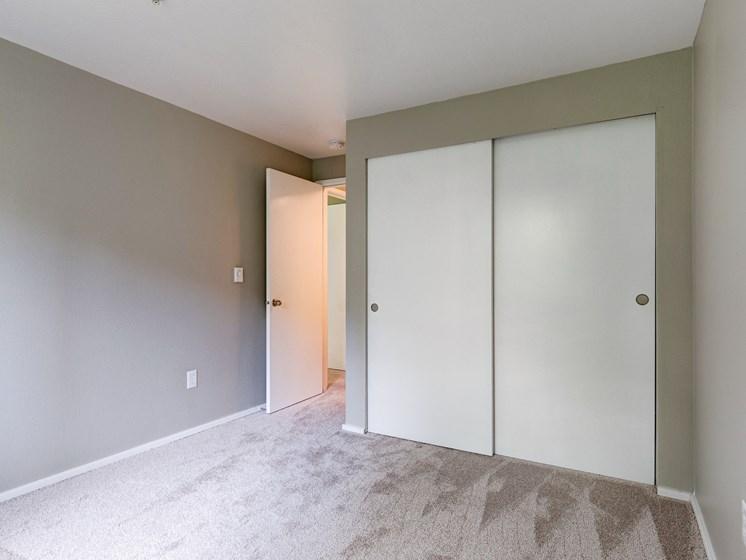 The Stinson Apartments Bedroom and Closet Door