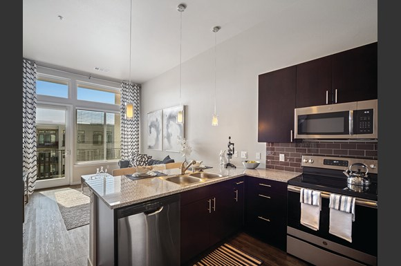 The Douglas Apartments on