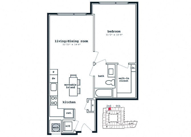 Studio 1 Amp 2 Bedroom Apartments In Silver Spring