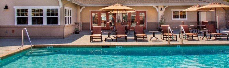 Olympic Size Swimming Pool, at Siena Apartments, Santa Maria, CA 93458
