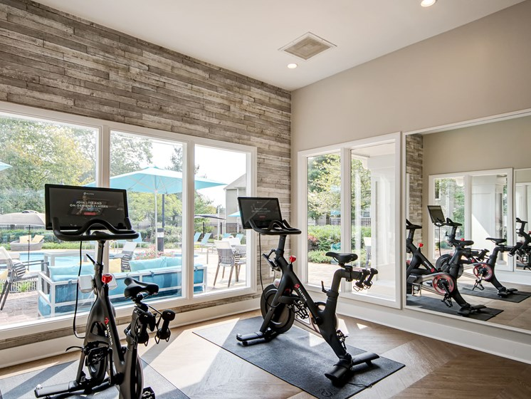 Saddle Ridge fitness center.