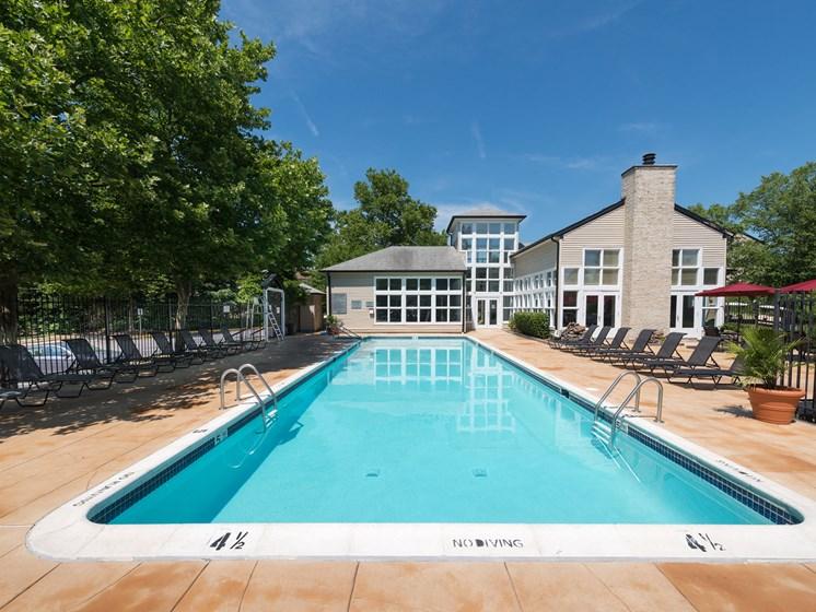 Reserve at Regency Park pool.