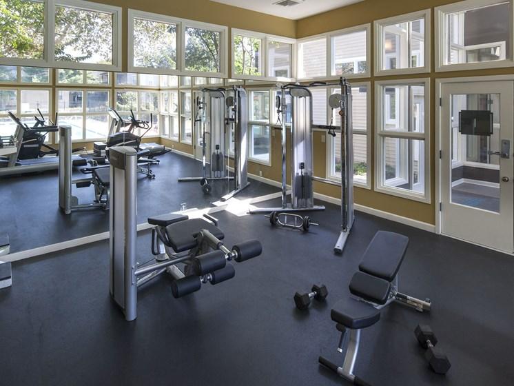 Reserve at Regency Park fitness center.