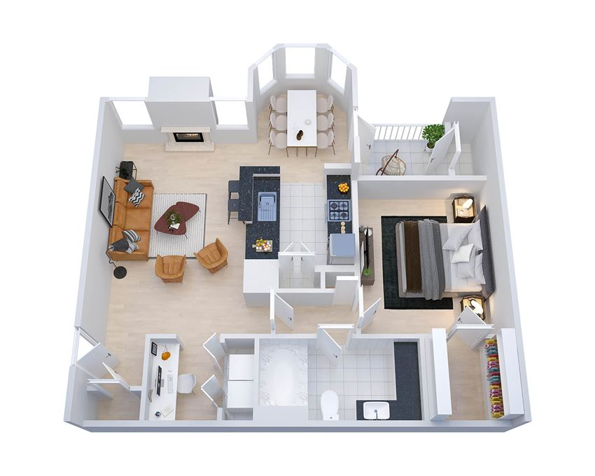 Chestnut Floor Plan